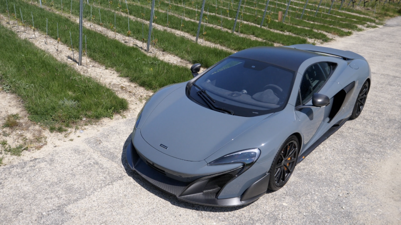 My First Time Driving A 675LT